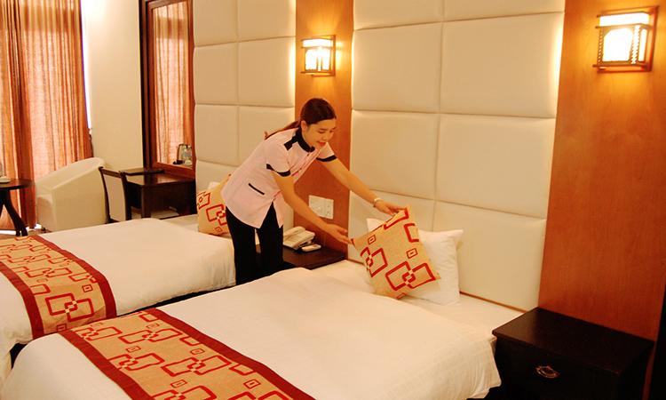 phòng đôi khách sạn seaside tuần châu hạ long