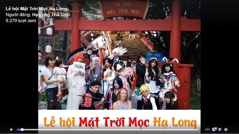 Lễ hội mặt trời mọc Hạ Long