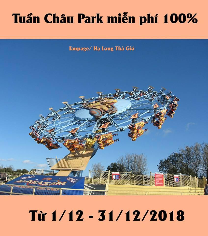 Tuần Châu miễn phí vé vui chơi
