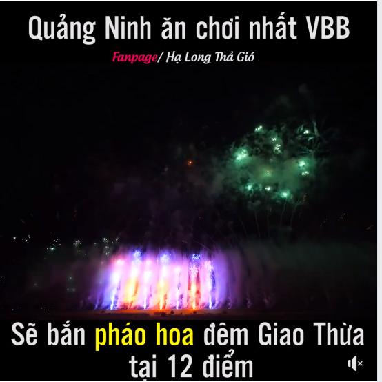 Quảng Ninh bán pháo hoa 12 địa điểm tết 2019