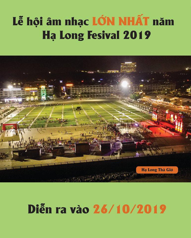 Lễ hội âm nhặc lớn nhất năm Hạ Long Lightting Show Festival 2019