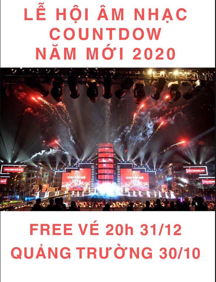 lễ hội âm nhạc countdown Hạ Long 2020