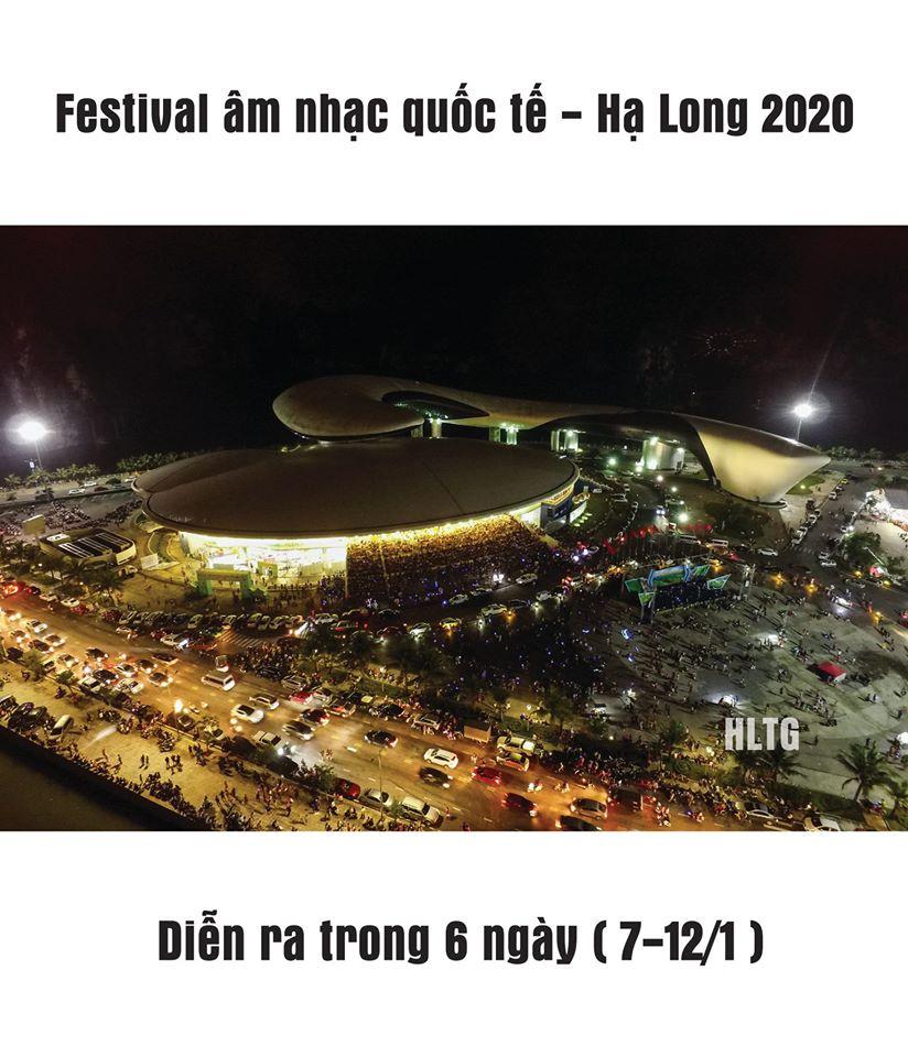 Festival âm nhạc quốc tế Hạ Long 2020