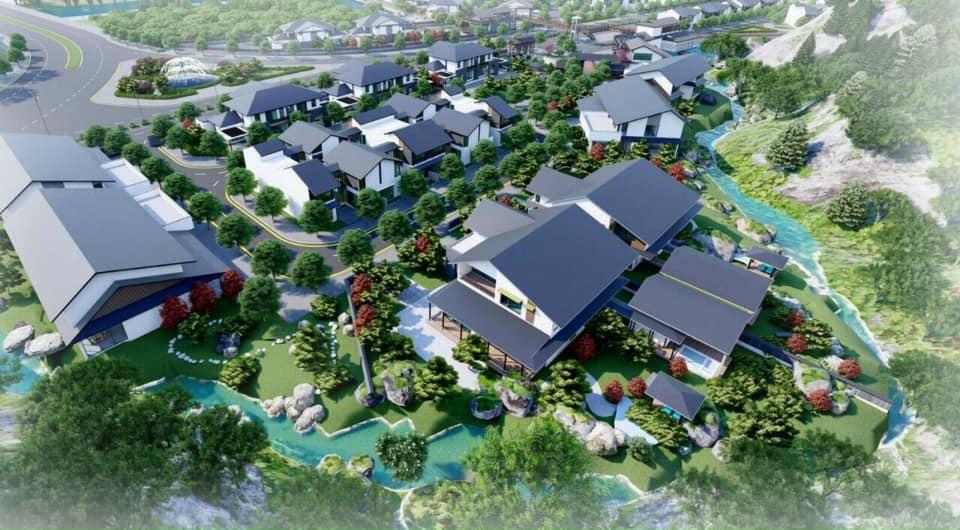 Biệt thự Onsen Quang Hanh
