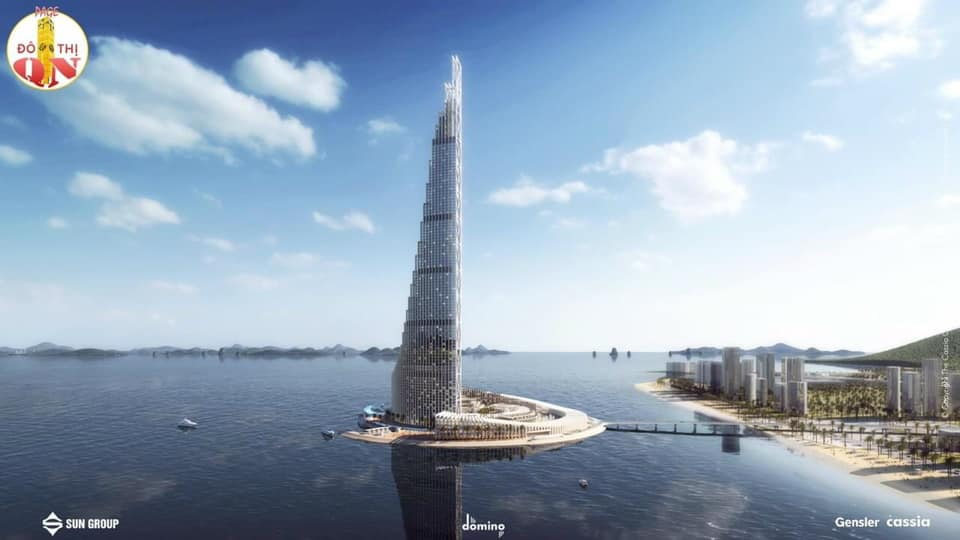 tháp domino 110 tầng Hạ Long
