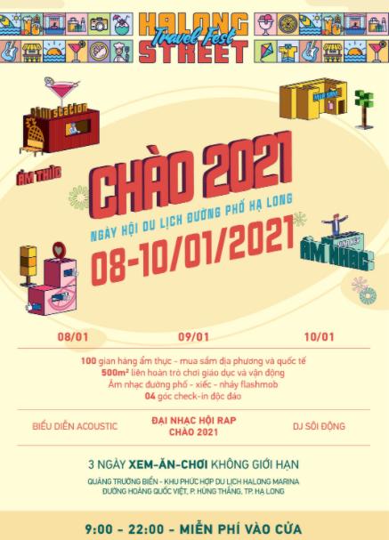 Ngày hội du lịch đường phố Hạ Long Chào 2021