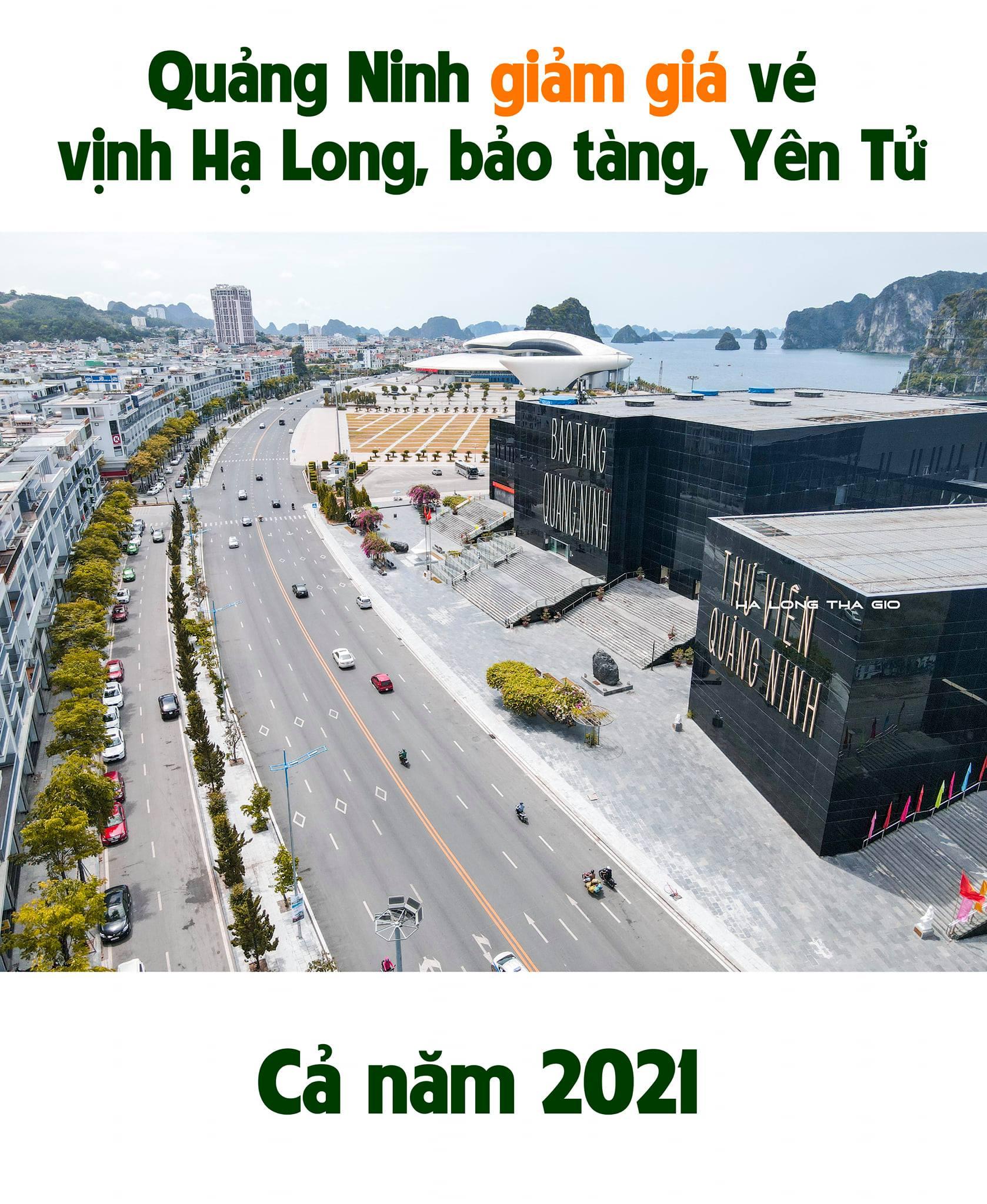 Giảm giá vé thăm Vịnh Hạ Long 2021