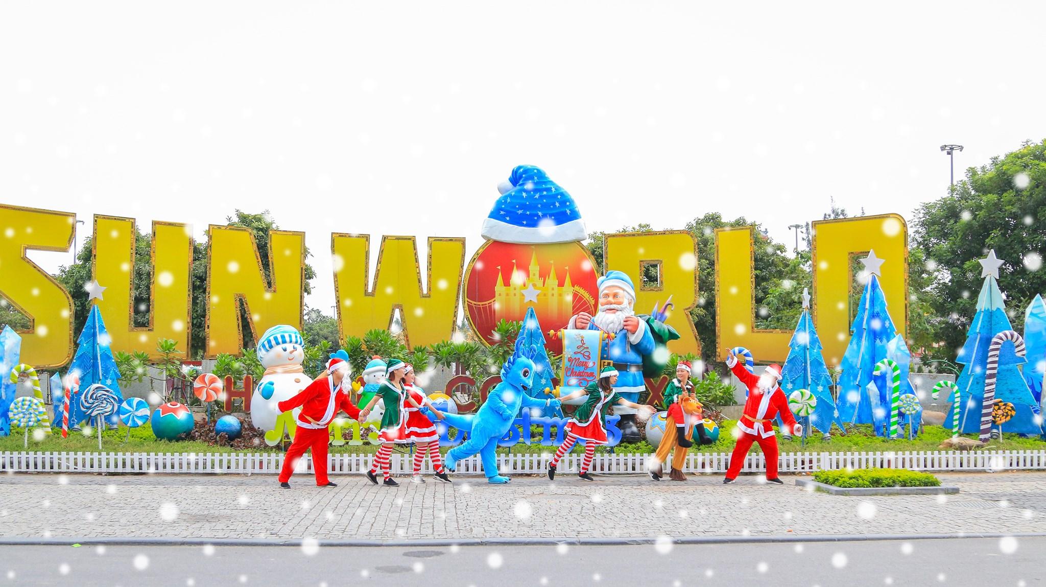Lễ hội Giáng Sinh tại Sun World Hạ Long