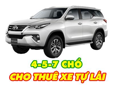 Cho thuê xe ô tô tự lại, có lái ở Hạ Long, Quảng Ninh