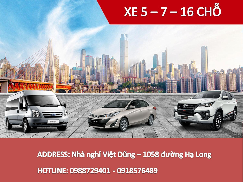 Giá thuê xe ô tô dịp tết Âm Lịch 2021 tại Hạ Long, Quảng Ninh